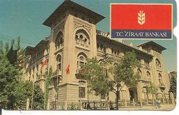 CARTE-MAGNETIQUE-100-TURQUIE-ZIRAAT BANKASI-BE - Turkey