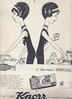 (pagine-pages)PUBBLICITA' KNORR  Oggi1960/23. - Books, Magazines, Comics