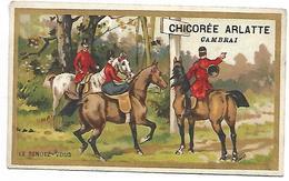 CHROMO - CHICOREE BLEU ARGENT - ARLATTE & Cie Cambrai - Le Rendez-vous - Tea & Coffee Manufacturers
