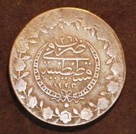Empire Ottoman,  2 1/2 Piastres_100 Para AH 1223 Année 26. - Turkey