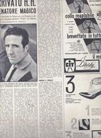 (pagine-pages)HELENIO HERRERA  Oggi1960/23. - Books, Magazines, Comics