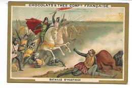 CHROMO - Chocolats & Thés Compagnie Française - Bataille D'Hastings - Unclassified