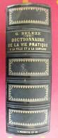 Dictionnaire De La Vie Pratique à La Ville Et à La Campagne. G. Beleze. Hachette 1862 - Books, Magazines, Comics