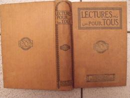 Lecture Pour Tous 1908-1909. Hachette Reliure éditeur. Ours Messine Pole Sud Nains Ménélick Lépine Football Grisou - Books, Magazines, Comics