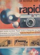 (pagine-pages)PUBBLICITA' AGFA   Oggi1964/52. - Books, Magazines, Comics