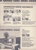 (pagine-pages)PUBBLICITA' KODAK   Oggi1964/52. - Books, Magazines, Comics