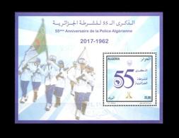 ALGERIE ALGERIA 2017 SS POLICE 55TH ANNIVERSARY MNH ** - Police - Gendarmerie