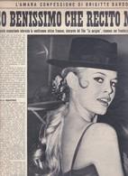 (pagine-pages)BRIGITTE BARDOT  Oggi1958/33 - Books, Magazines, Comics