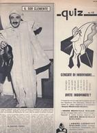 (pagine-pages)ALBERTO TALEGALLI  Oggi1958/33. - Books, Magazines, Comics
