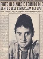 (pagine-pages)ALBERTO SORDI  Oggi1958/33. - Books, Magazines, Comics