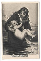 CHROMO - CHOCOLAT DEVINCK - Femme Et Enfant - Chocolat