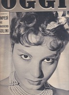 (pagine-pages)ROSANNA SCHIAFFINO  Oggi1958/33. - Books, Magazines, Comics