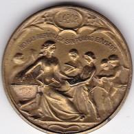 SEGUNDO CONGRESO DE SOCIEDADES POPULARES DE EDUCACION BUENOS AIRES CIRCA 1915,MEDALLA SIZE 3cm DIAM WEIGHT 13grs-BLEUP - Badges