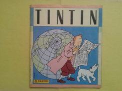 Livre De Tintin Avec Ses 238 Images De Panini Collées.Complet. Année 89 - Tintin