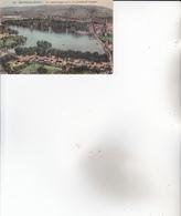 CPA 95 ENGHIEN ,Vue Panoramique Du LAC. ( Gravure.) - Enghien Les Bains