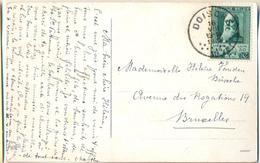 _G374: N° 299: DOISCHE 16 VIII 1930 > Bruxelles - Lettres & Documents