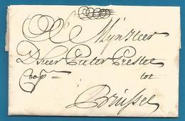 (D049) LAC De Rotterdam Vers Bruxelles Du 26/7/1740 - ...-1852 Vorläufer