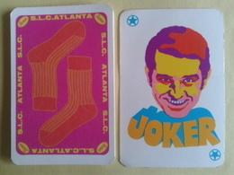 SLC.ATLANTA (Salut Les Copains). Chanteurs. Jeu De 52 Cartes +2 Jokers. Bon état. Voir Scan - 54 Cards
