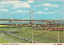 HUMBER BRDGE FROM THE SOUTH BANK - England