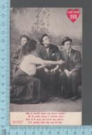 Fantaisies - Women Choice, Leap-Year 1908  - PUB: L. Grollman. CPA - Fantaisies