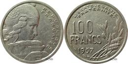 France - IVe République - 100 Francs Cochet 1957 - TB - Fra2511 - France