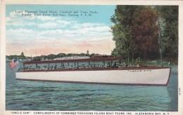 "New York Alexnadria Bay ""Uncle Sam"" Tour Boat Leaving Thousand I"