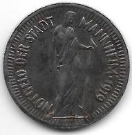 *notgeld Mannheim 25  Pfennig 1919 Fe 8773.4 - Germany