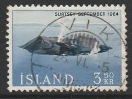 Iceland 1965 The Volcanic Island Surtsey 3.50 Kr Multicoloured SW 395 O Used - 1944-... Republik