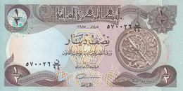 IRAQ 1/2 DINAR 1985 P-68 UNC */* - Iraq
