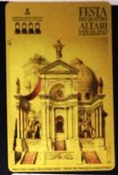 Italia .- New, Nuova. Prepaid Phone Card, TELECOM,festa Dei Quattro Altari, Banco Di Napoli- 5000L, Ed. Mantegazza - Italy