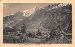 74 - CHAMONIX - L'Aiguille Du Dru - Chamonix-Mont-Blanc