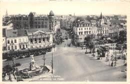 BRUXELLES - Porte De Namur Et Chaussée D'Ixelles - Avenues, Boulevards