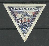 FAUX FAKE LETTLAND LATVIA 1931 Michel 192 B * FÄLSCHUNG - Lettland