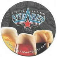 Lote A30, Argentina, Posavaso, Coaster, Antares, 3 Vasos - Beer Mats