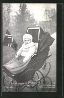 AK Pronprinz Olaf Von Norwegen On Kinderwagen - Familles Royales