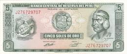 Peru - 5 Soles 16 May 1974 - UNC - Pérou