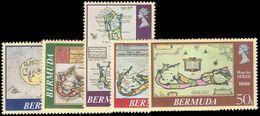 Bermuda 1979 Antique Maps Unmounted Mint. - Bermuda