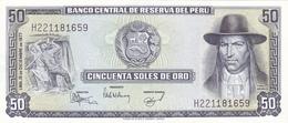 Peru - 50 Soles 15 December 1977 - UNC - Pérou