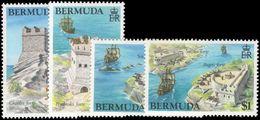 Bermuda 1982 Historic Forts Unmounted Mint. - Bermuda