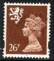 Scotland GB 1996 QE2 26p Red Brown Machin SG S 85 ( D1338 ) - Regional Issues