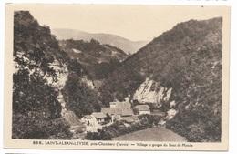 000350 Saint Alban Leysse, Village Et Gorges Du Bout Du Monde - France