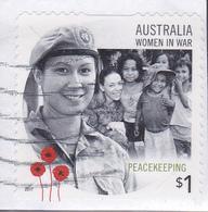 2017. AUSTRALIAN DECIMAL.Women In War. $1. Peacekeeping. P&S. FU. - 2010-... Elizabeth II