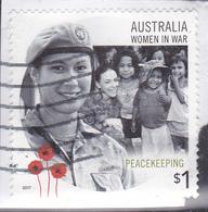 2017. AUSTRALIAN DECIMAL.Women In War. $1. Peacekeeping. FU. - 2010-... Elizabeth II