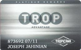 Tropicana Express Casino - Laughlin NV - Slot Card - Casino Cards