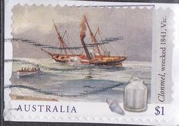 2017. AUSTRALIAN DECIMAL. Shipwrecks. $1. Clonmel. Wrecked. 1841. Vic. P&S. FU. - 2010-... Elizabeth II