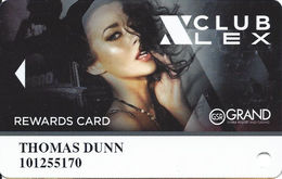 Grand Sierra Casino - Reno, NV - Club Lex Slot Card - Casino Cards