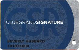 Grand Sierra Casino - Reno, NV - Slot Card With 03 Over Mag Stripe - Casino Cards