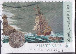 2017. AUSTRALIAN DECIMAL. Shipwrecks. $1. Zuytdorp. Wrecked. 1712. W.A. P&S. FU. - 2010-... Elizabeth II