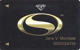 Siena Casino - Reno, NV USA - Slot Card - Hologram Diamond - Casino Cards