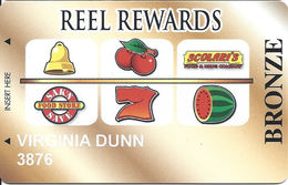 Scolari's - Reno NV - Reel Rewards / Slot Card - Casino Cards